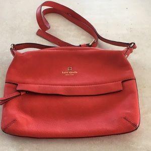 Red Kate Spade Crossbody bag